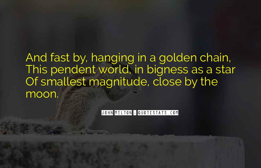 Quotes About Hanging The Moon #98393