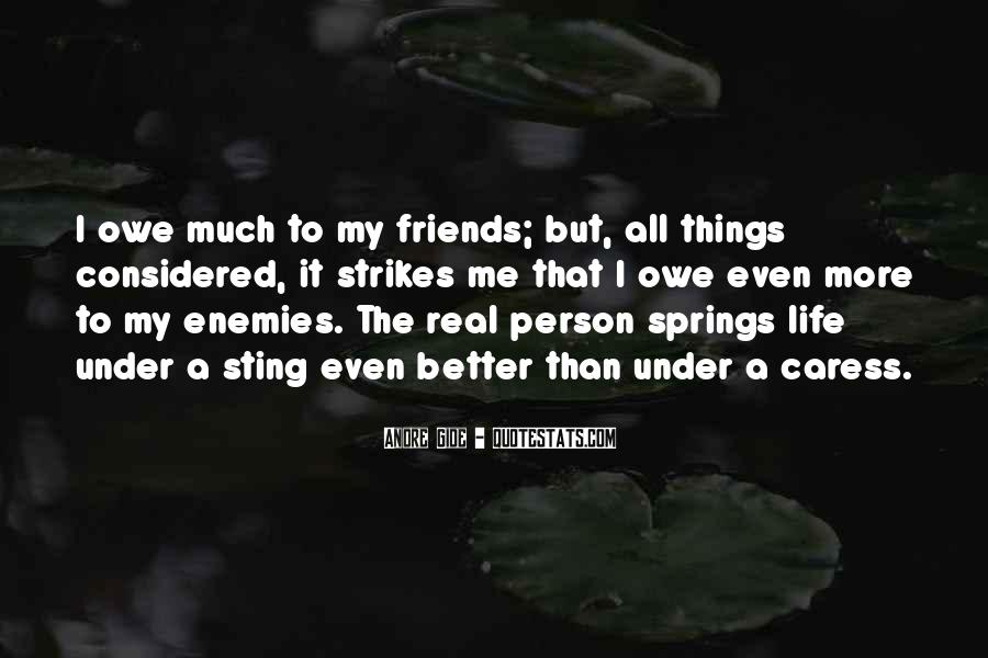 Quotes About Real Life Friends #1062806