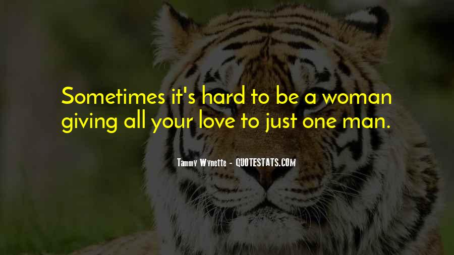 Quotes About Love Your Woman #121724