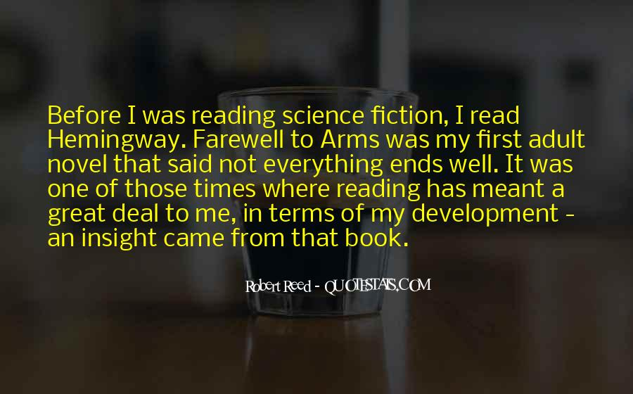 Quotes About Farewell To Arms #549453