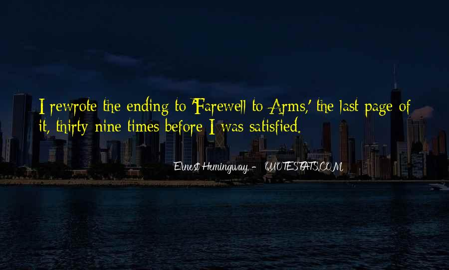 Quotes About Farewell To Arms #607713