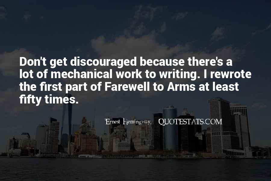 Quotes About Farewell To Arms #887184