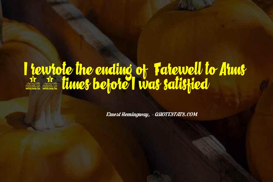 Quotes About Farewell To Arms #990761