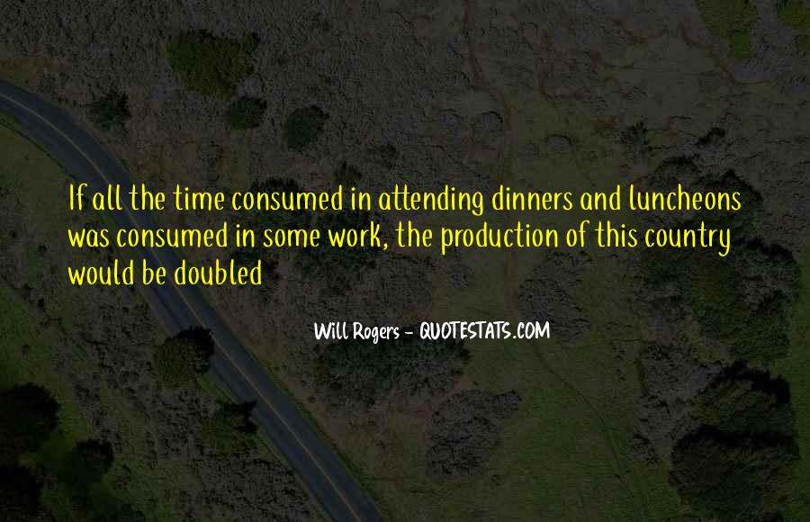 Quotes About Luncheons #1017134