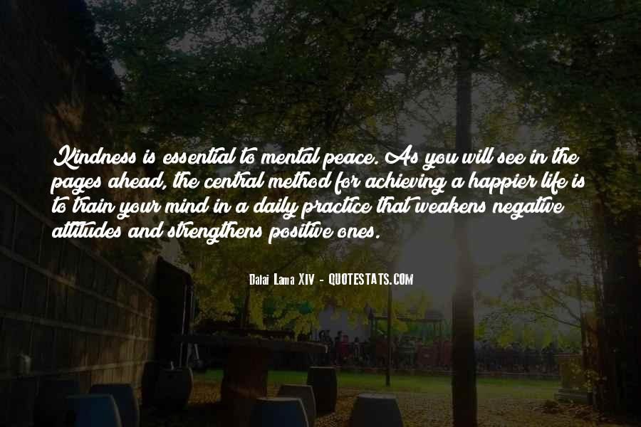 Quotes About Positive And Negative Attitudes #1266963