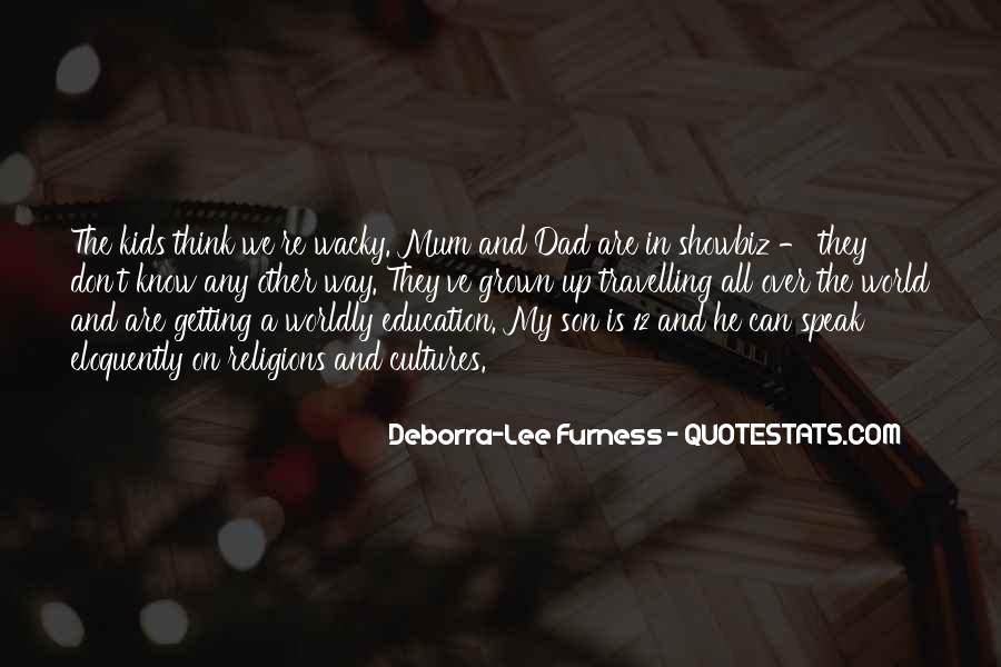 Quotes About A Dad And Son #191287