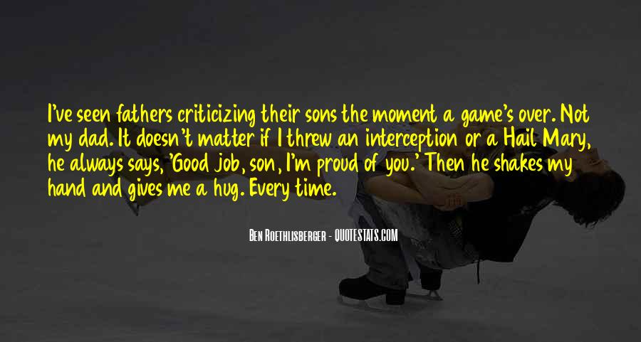 Quotes About A Dad And Son #328262