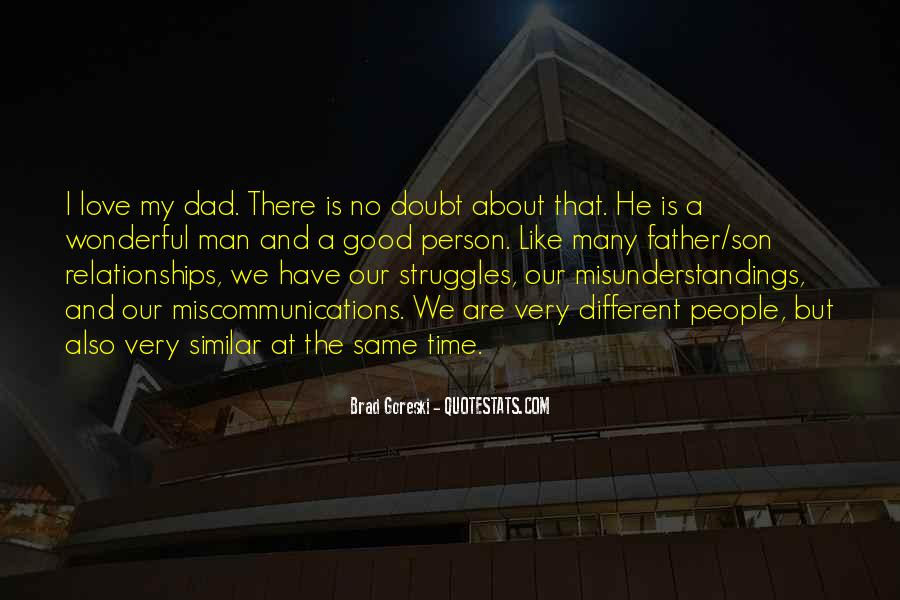 Quotes About A Dad And Son #462362