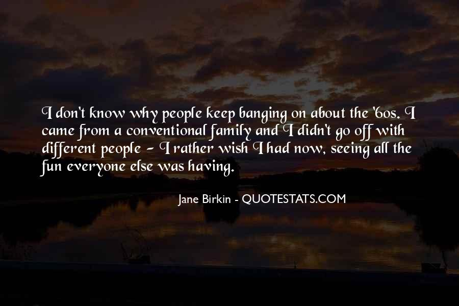 Quotes About Not Seeing Your Family #14114
