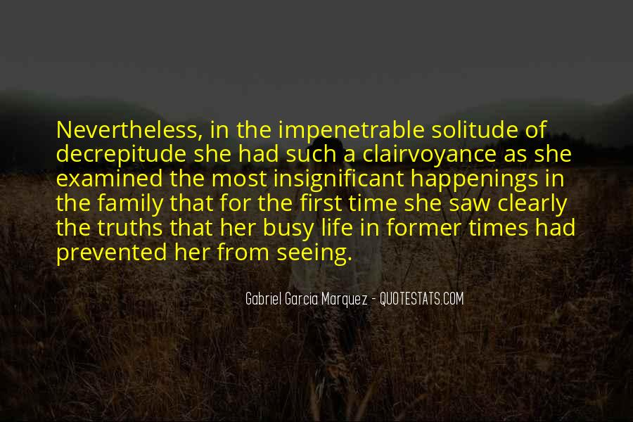 Quotes About Not Seeing Your Family #671099