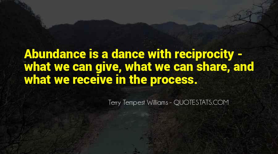 Quotes About Reciprocity #1176686