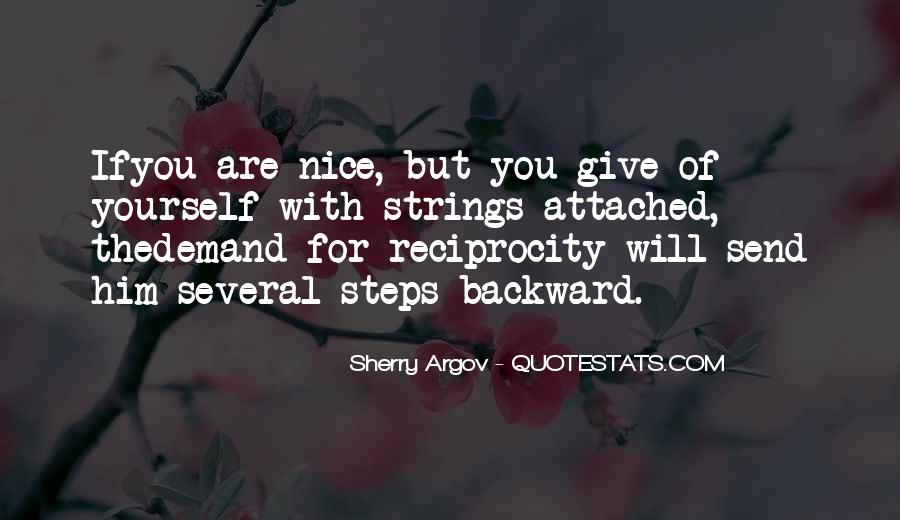Quotes About Reciprocity #179979