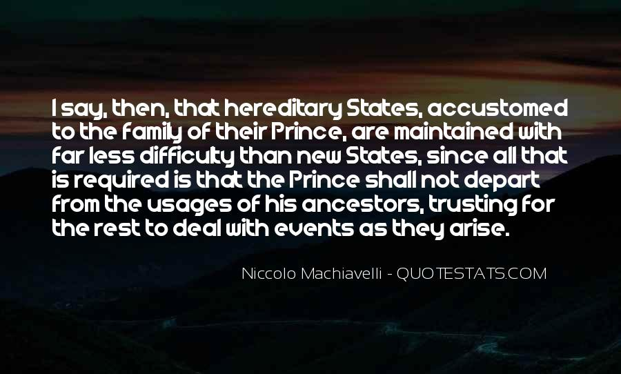 Quotes About Ancestors And Family #15371