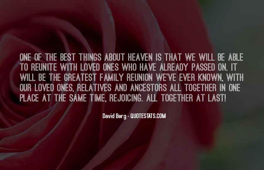 Quotes About Ancestors And Family #1726447