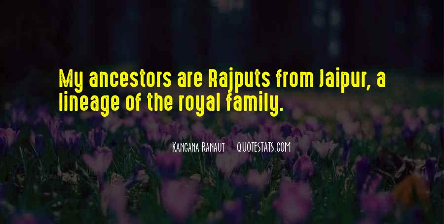 Quotes About Ancestors And Family #363340