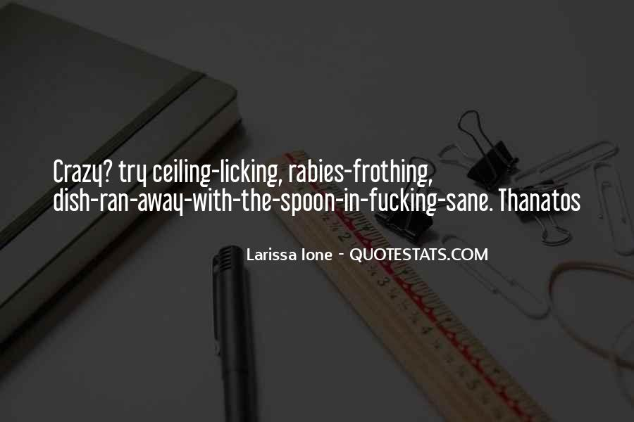Quotes About Licking #181763