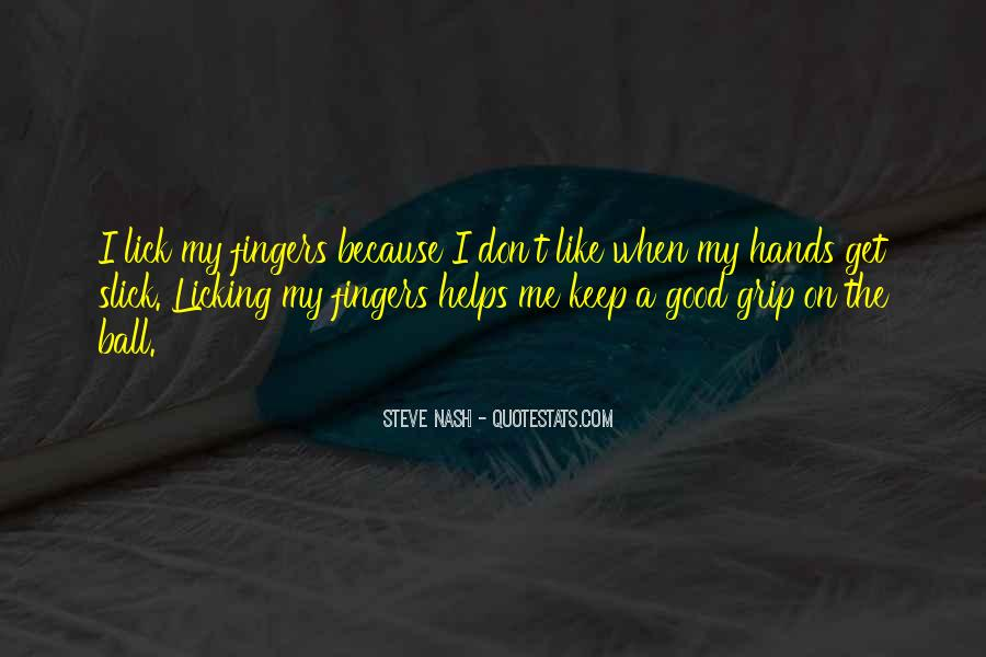 Quotes About Licking #6376