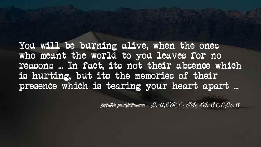 Quotes About Hurting Those You Love #238518