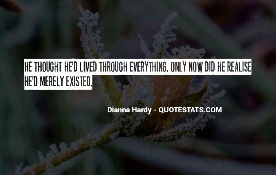Quotes About Living And Existing #809456