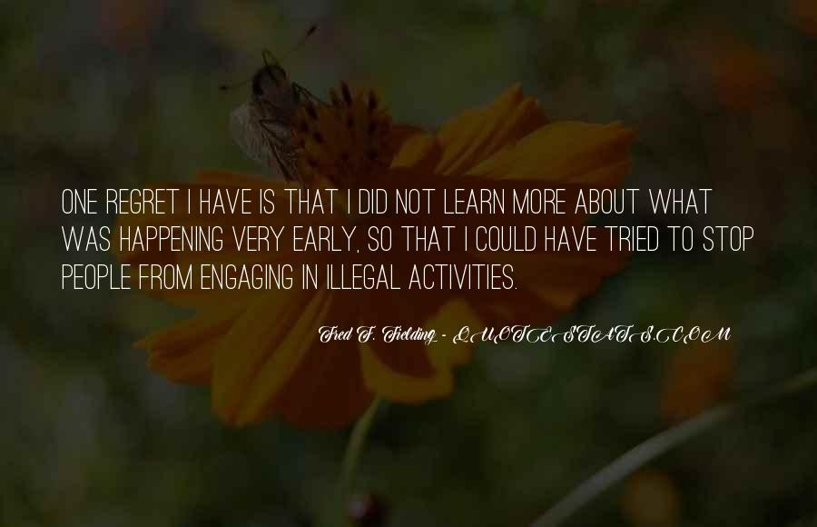 Quotes About Not Engaging #1532239