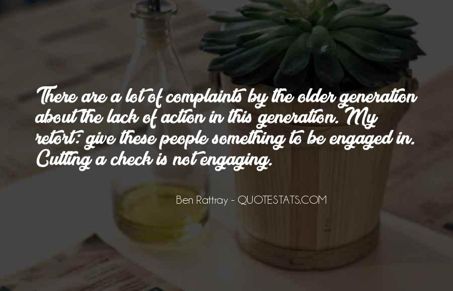 Quotes About Not Engaging #258659