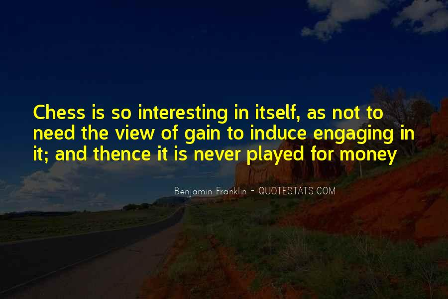 Quotes About Not Engaging #339544