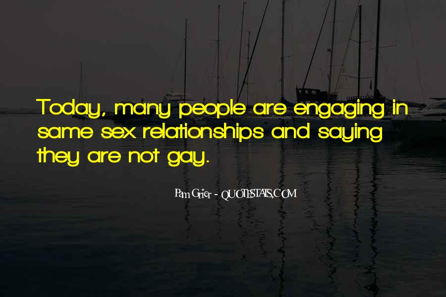 Quotes About Not Engaging #53916