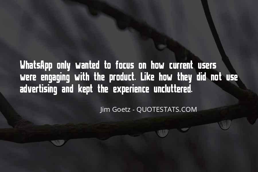 Quotes About Not Engaging #623955