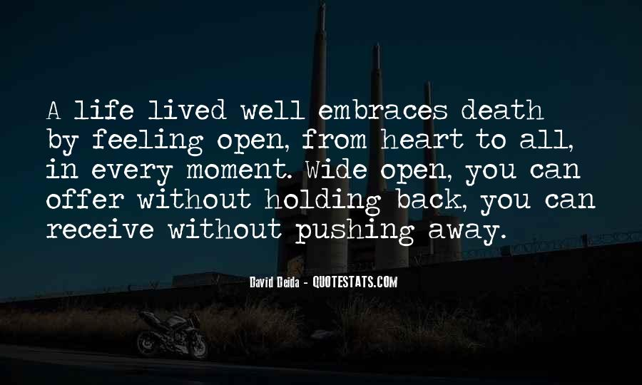 Quotes About Pushing Away Someone #206428