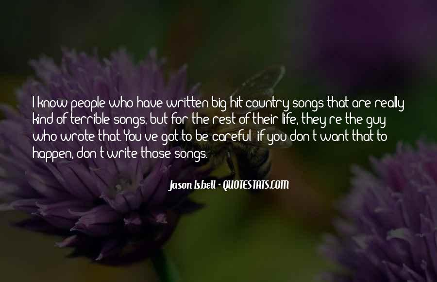 Quotes About Life Country Songs #1784796