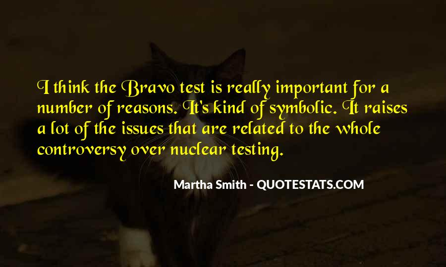 Quotes About Bravo #60605
