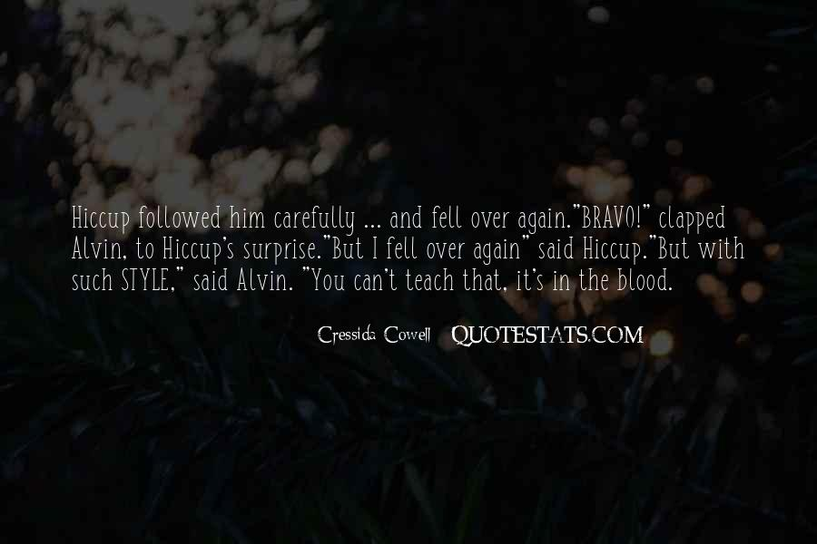 Quotes About Bravo #737190