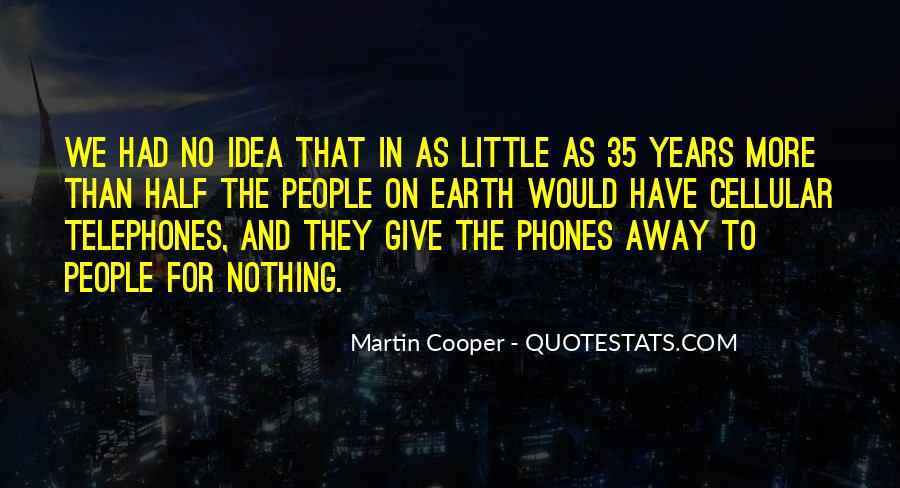 Quotes About Cellular Phones #1636678