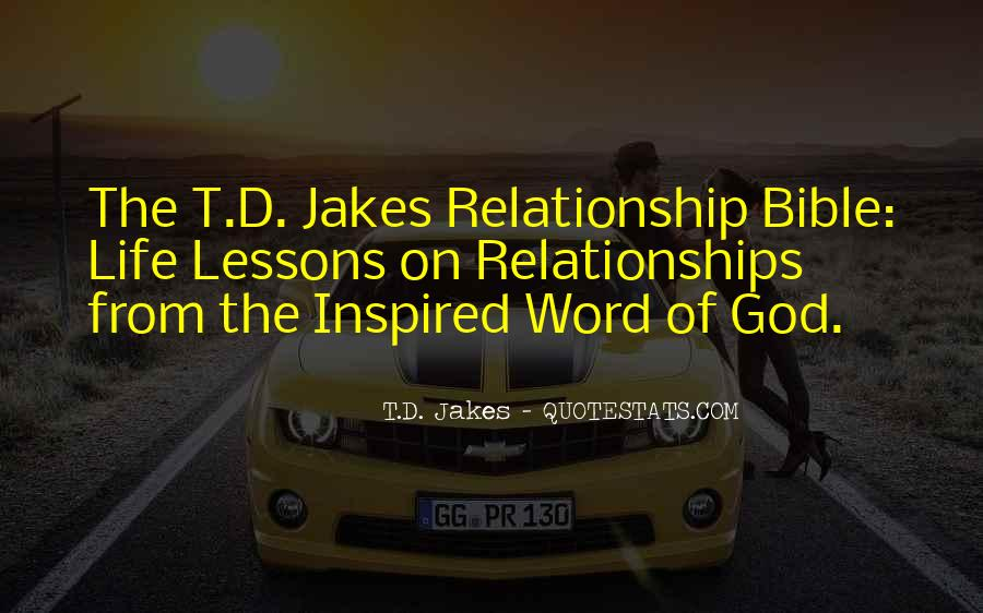 Quotes About Relationships Bible #455946