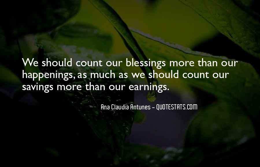 Quotes About More Blessings #1060845