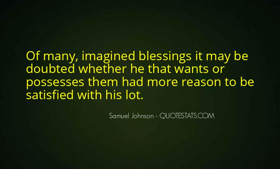 Quotes About More Blessings #1122544