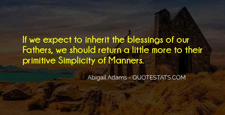 Quotes About More Blessings #1160844