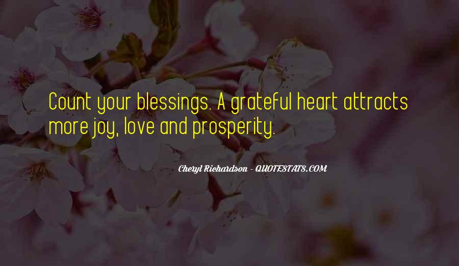 Quotes About More Blessings #116190