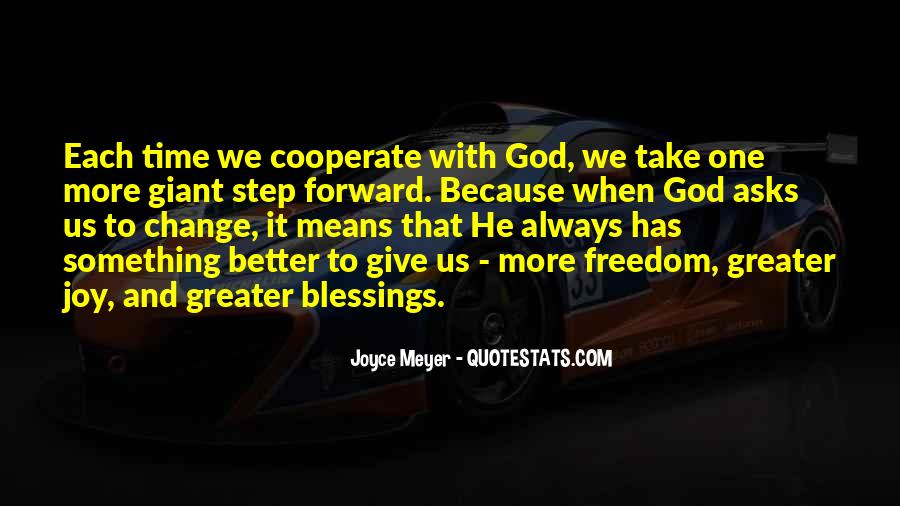 Quotes About More Blessings #1413924
