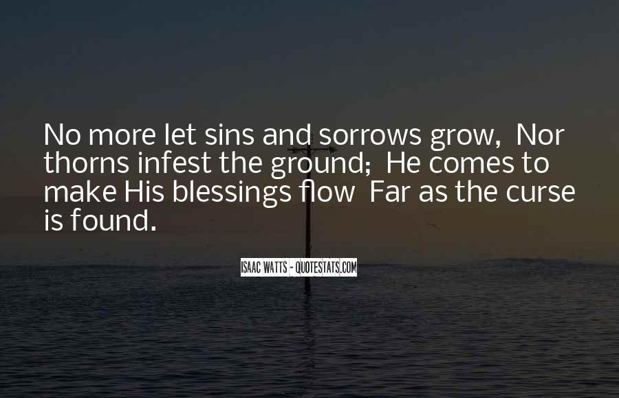 Quotes About More Blessings #1688479