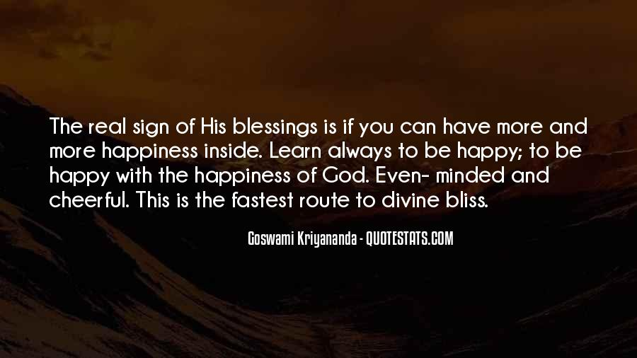 Quotes About More Blessings #1691163