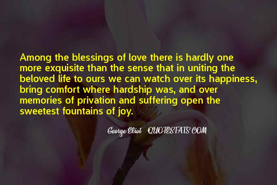 Quotes About More Blessings #1840276