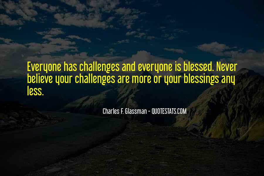 Quotes About More Blessings #1861372