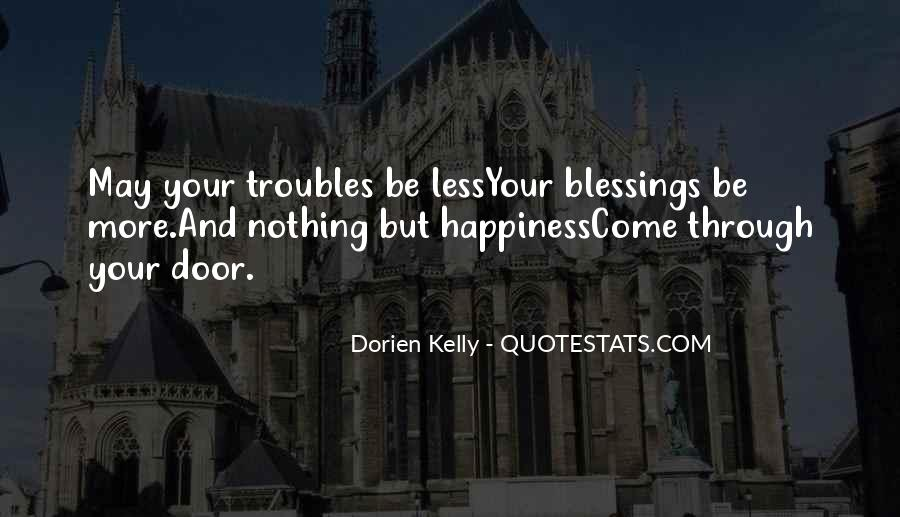 Quotes About More Blessings #192907