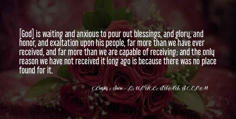Quotes About More Blessings #250901
