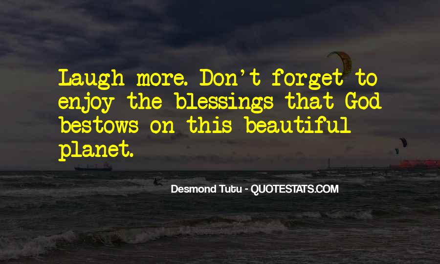 Quotes About More Blessings #434502