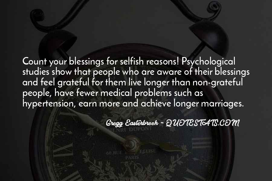 Quotes About More Blessings #611643