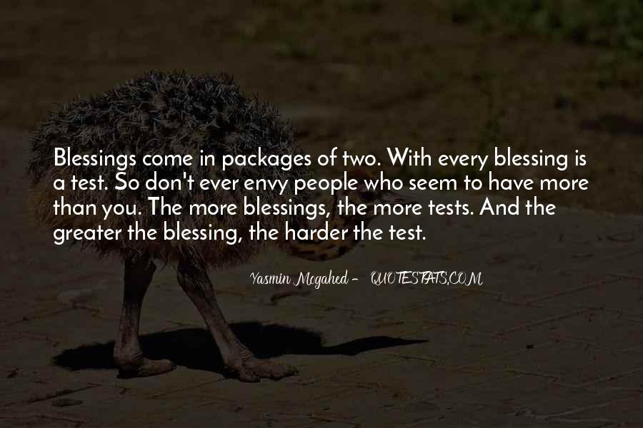 Quotes About More Blessings #693151