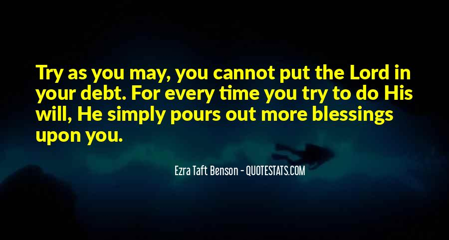 Quotes About More Blessings #865030