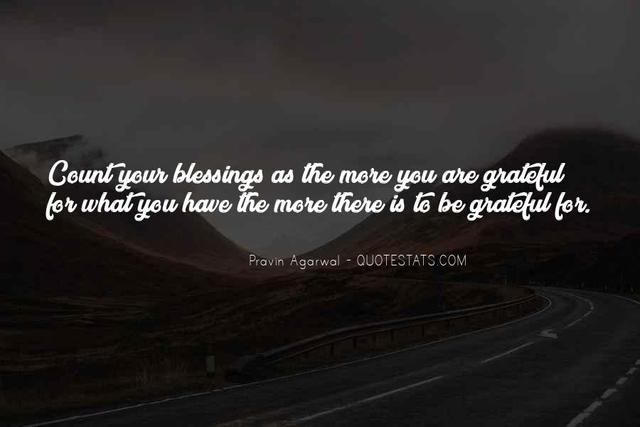 Quotes About More Blessings #887491